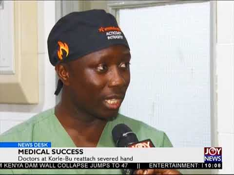 Medical Success - News Desk on Joy News (11-5-18)