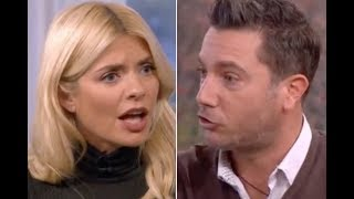 ITV This Morning Holly Willoughby gets angry with Gino D Acampo