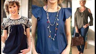 e95e13d50 Descargar MP3 de Blusas Elegantes Para Mujeres Mayores gratis ...