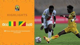 CHAN 2020 | Quart de Finale : Mali 0 (5) – (4) 0 Congo