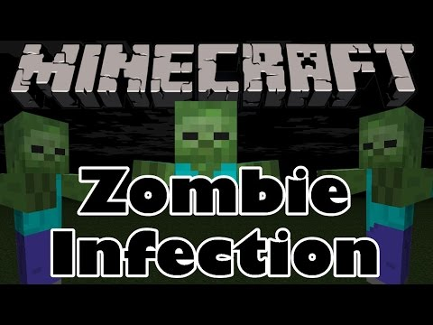 Minecraft | ZOMBIE INFECTION MOD!!! (Get Infected, Find a Cure) Minecraft Mod Review