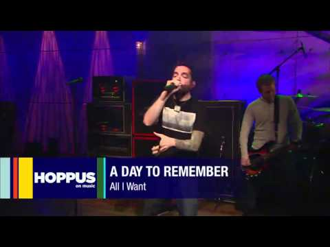 A Day To Remember   All I Want  Live At Hoppus On Music - Rosendo