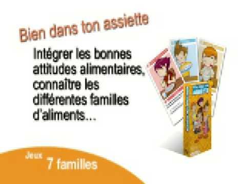 Jeux de 7 familles en vente chez Ma santé facile