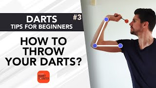 How To Throw Your Darts?   Darts Tips for Beginners #3