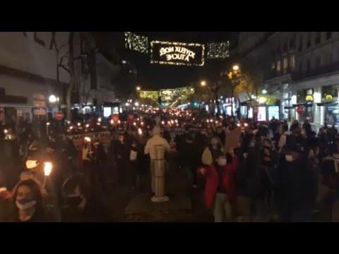 Γαλλία: Διαδηλώσεις μεταναστών