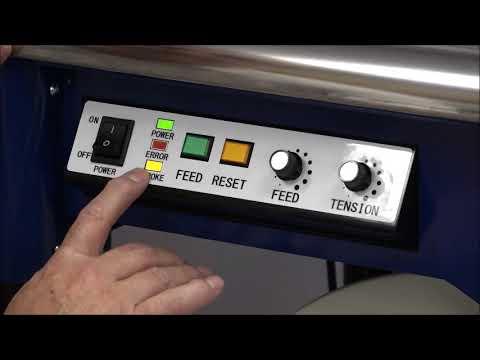 M-Pac V: Stroke en torque instellen