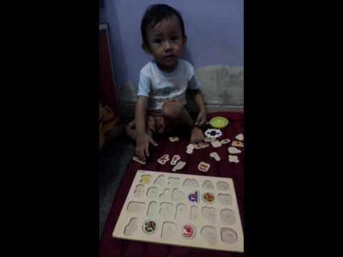 Video Anak cerdas usia 2 tahun