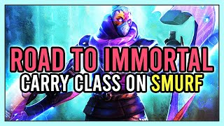 Carry Class - Teaching Safelane Pos 1 - Educational Stream - Road To Immortal Smurfing