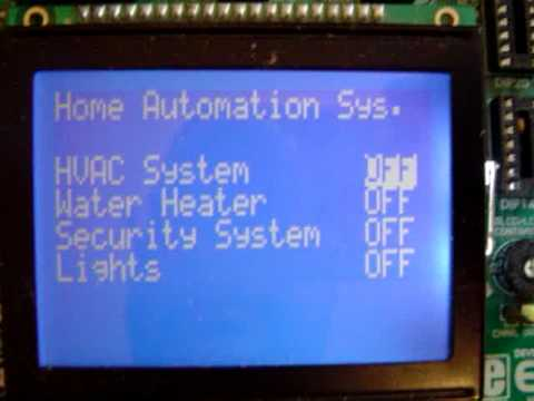 Home Automation System Supported by User Freindly Interface Using
