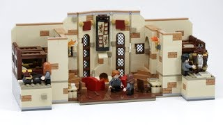 LEGO Harry Potter Gryffindor Common Room MOC Walk-Through!