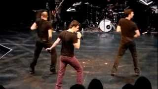 Jordan Knight LIve & Unfinished: Edmonton 2012 - O Face & Up & Down
