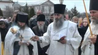 Панихида в день памяти трех убиенных оптинских братий