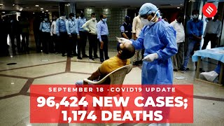 Coronavirus updates: India recorded 96,424 new Covid-19 cases on Sept18 - Download this Video in MP3, M4A, WEBM, MP4, 3GP