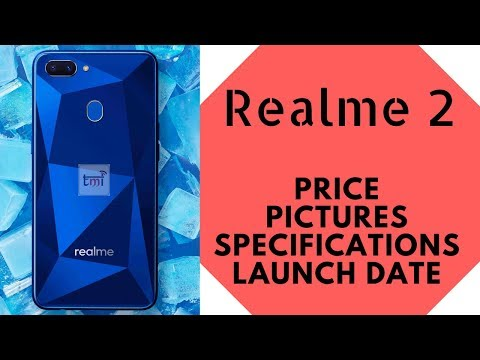 Realme 2: Price, Specifications, Pictures & Launch Date