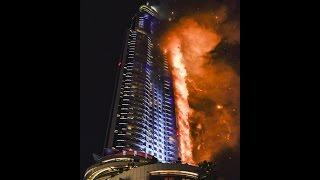 Fire at The Address Downtown Dubai 2016, Пожар в небоскребе Дубаи