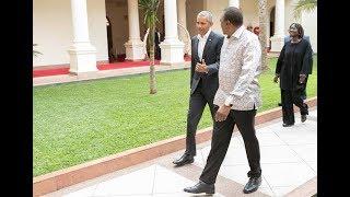 Aliyekuwa rais wa wa Marekani Barack Obama awasili nchini I KTN Mbiu