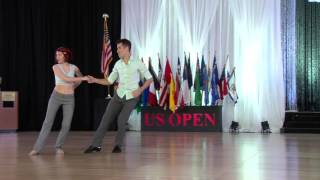 2015 Rising Star Champions - Jesse Lopez & Hailee Lopez - US Open