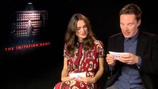 Benedict Cumberbatch & Keira Knightley FUNNY INTERVIEW