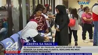 'Di pagbibigay ng pagkain, matutuluyan at pag-rebook sa kanilang flights, reklamo ng mga pasahero