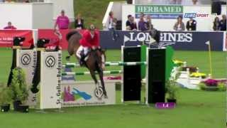 Marcus Ehning - Plot Blue - NC St Gallen 2012 - YouTube