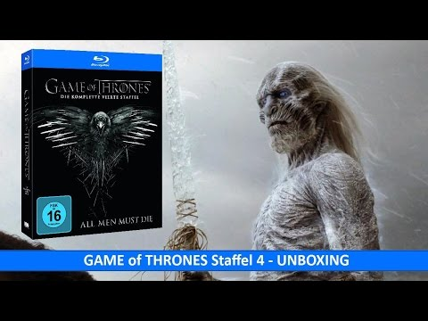 GAME of THRONES Staffel 4 (Blu-Ray) UNBOXING