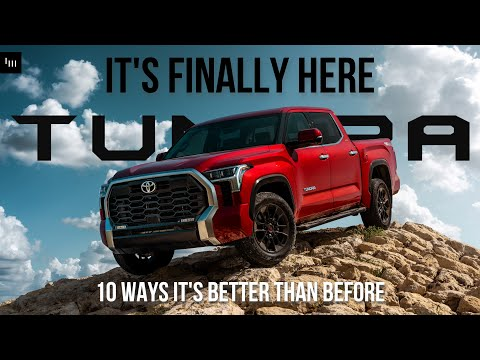 10 MAJOR Ways The 2022 Toyota Tundra Is Better Than The Old One