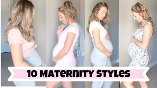 How To Dress Your Bump | 10 Maternity Outfit Ideas
