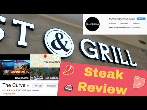 Review: Roast & Grill, The Curve (Unfortunately bad steak)