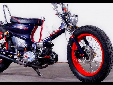 Video Modifikasi Honda Astrea Grand Custom Street Cub Chopper Japan Style
