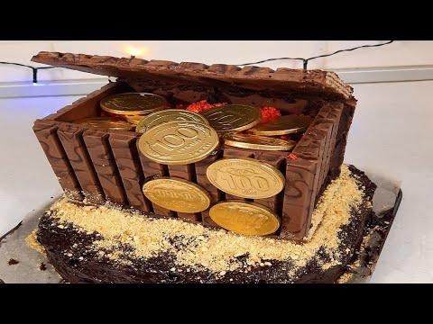 Рецепт торта с виде сундука