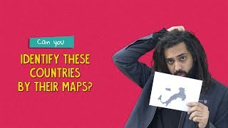 Can You Identify These Countries By Their Maps? | Ft. Kanishk & Tenzing | Ok Tested