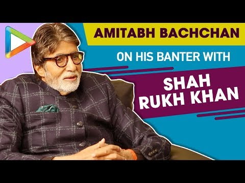 """Amitabh Bachchan: """"My BANTER with SHAH RUKH KHAN gave a Different Aspect Of How to…""""Badla"""