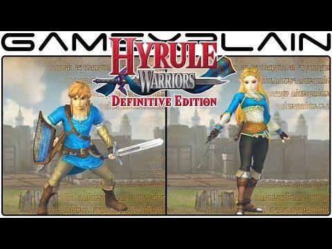 Hyrule Warriors Definitive Edition : Hyrule Warriors: Definitive Edition - Nintendo Switch Trailer (Nintendo Direct mini)