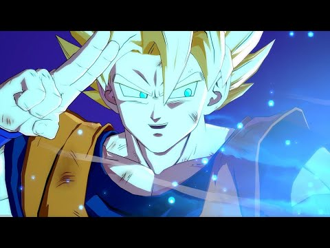 Dragon Ball FighterZ Easter Egg – Goku Defeats Kid Buu With Giant Spirit Bomb