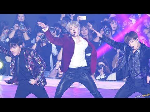 181106 지민 Jimin 방탄소년단 BTS 'IDOL' 4K 60P 직캠 @MBC 지니뮤직…