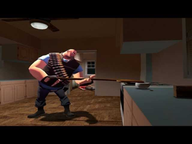 Team Fortress 2 Moments With Heavy French Toast