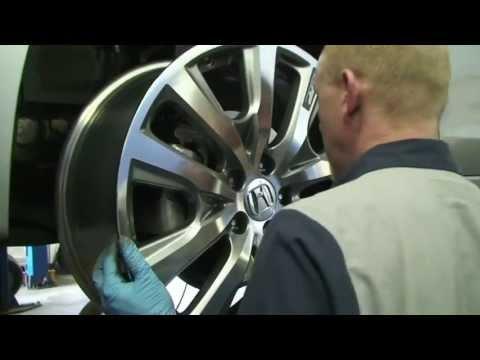 "CHHonda Short - 2013 19"" HFP Wheels on 8thGeneration Honda Accord models"