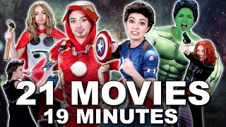 Everything You Need To Know Before AVENGERS ENDGAME - Merrell Twins (MCU)