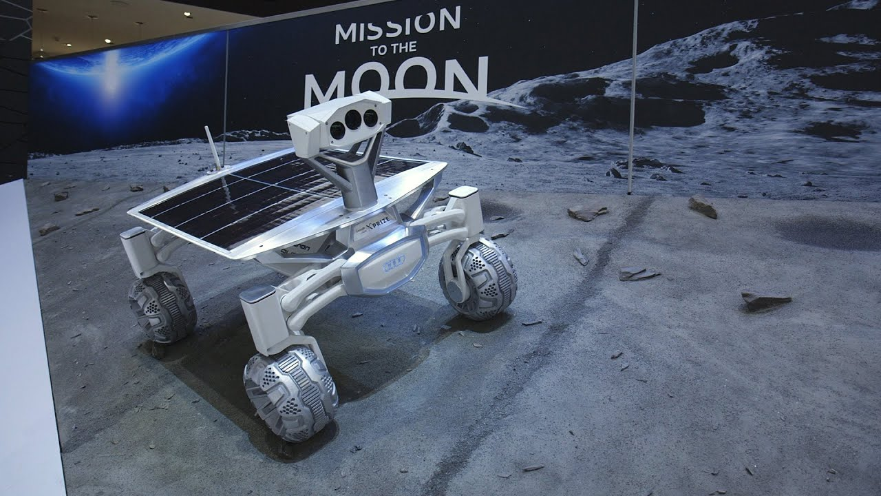 Audi's amazing robotic moon rover at the Detroit Auto Show thumbnail