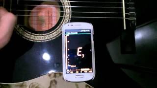 Telefonla Gitar Akort Etme Uygulaması