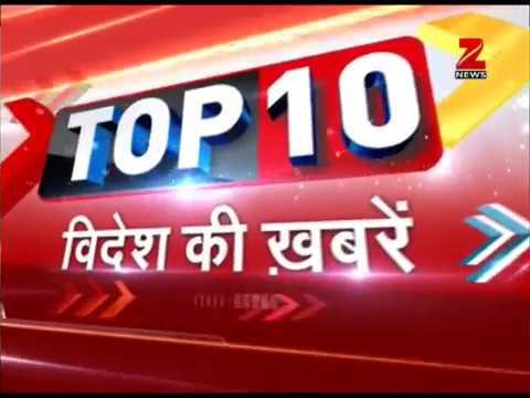 Watch ten biggest international news of the morning