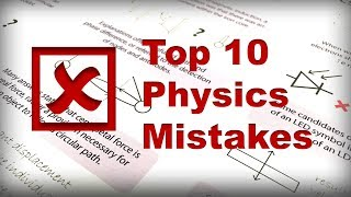 10 Physics Mistakes you shouldn't make