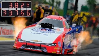 Robert Hight makes the FASTEST pass in NHRA history