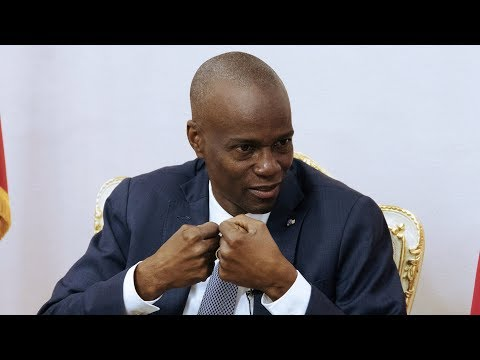 I'm not a dictator, says Haiti president Jovenel Moise as he commits to tackling corruption