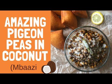 The tastiest pigeon peas cooked in coconut (mbaazi)