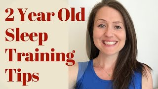 2 Year Old Sleep Training: How to Avoid Common Sleep Problems