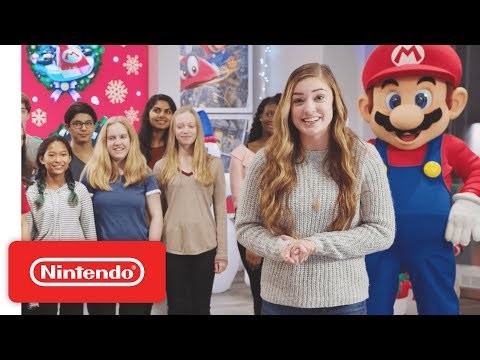 Nintendo Sneak Peek: Holiday at Nintendo New York
