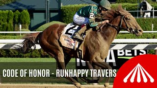 Code of Honor - 2019 - The Runhappy Travers Stakes