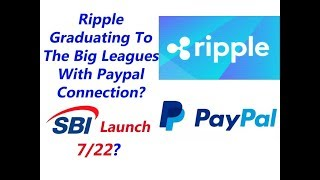 XRP King of Coins: Ripple Going Big Leagues? Possible SBI Launch 7/22?