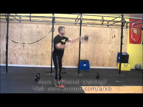 How To Do A Kettlebell Hand To Hand Swing